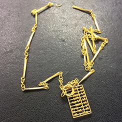 切れてしまった金のネックレスやブレスレット